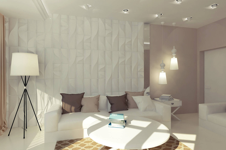 Дизайн гостиной от Витта-Групп