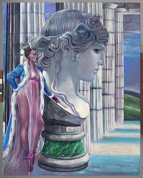 Theodora , dancing queen 130cmx160cm