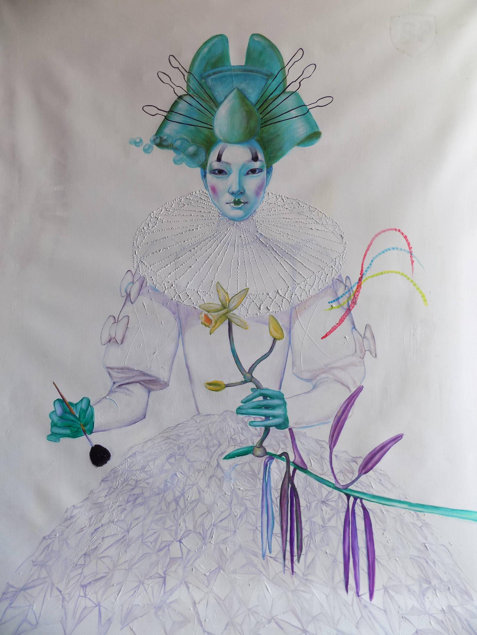 Vanilla. queen n 3   114x146cm