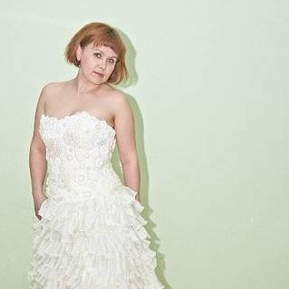 Свадебное платье , Корсет  выполнен в технике ирландского кружева, расшит бусинами и бисером.