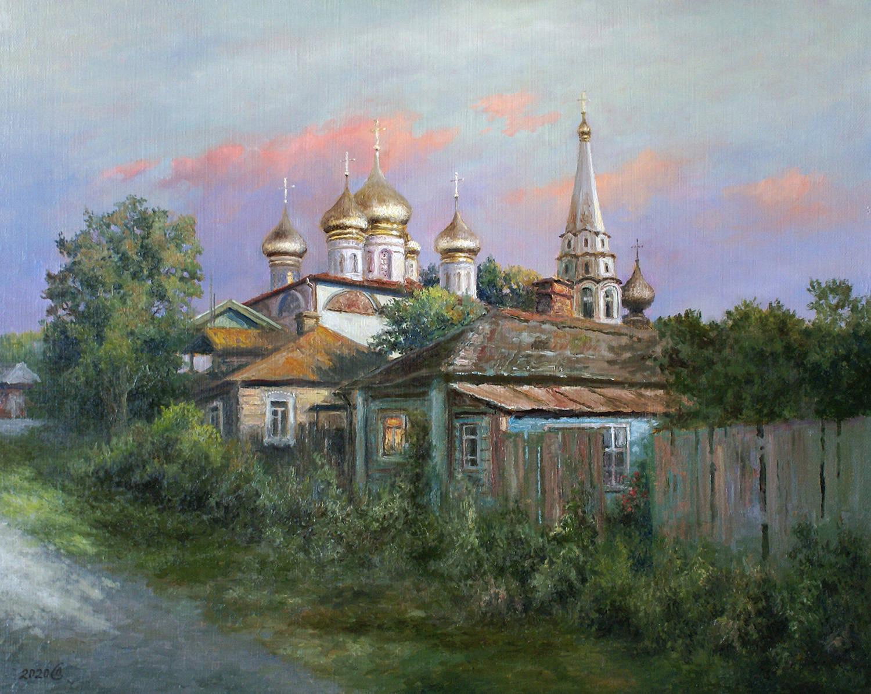 Святая Русь - холст/масло, 40х50, 2020