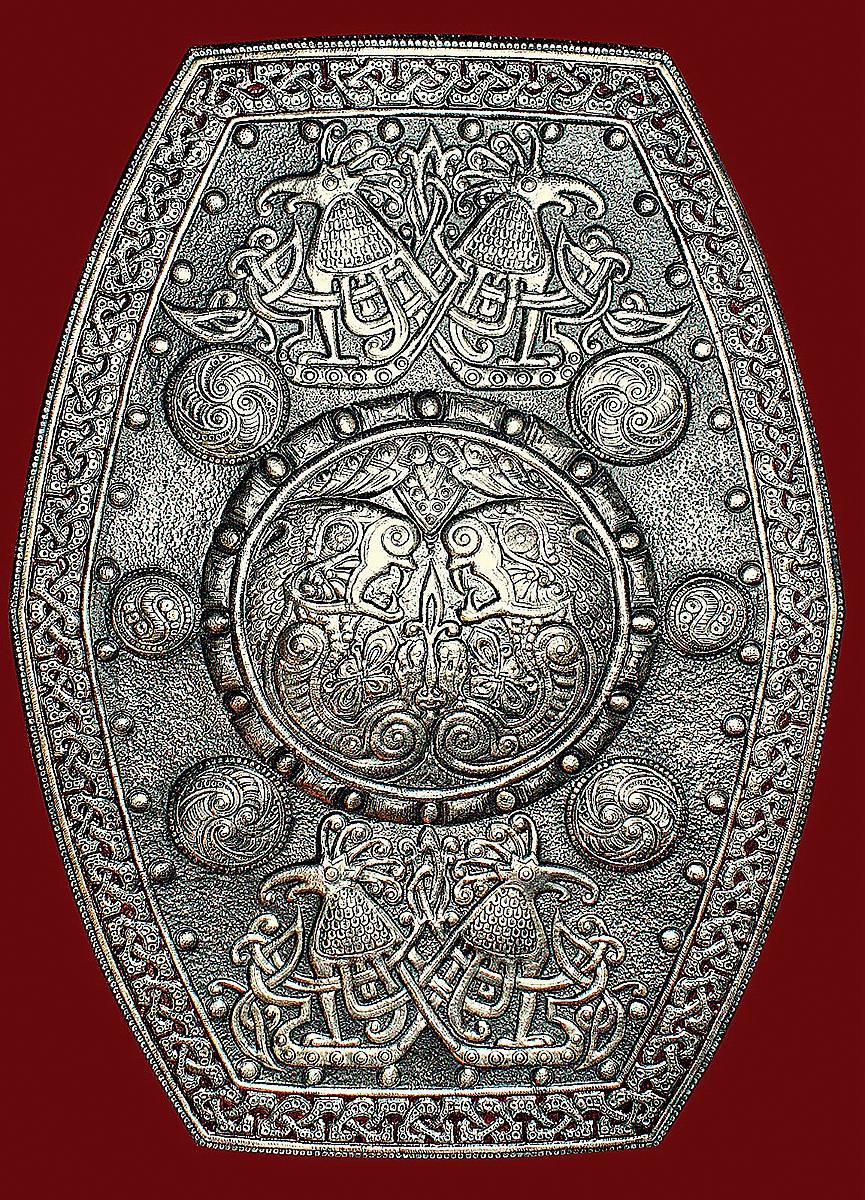 Чеканка. Кельтские мотивы-2
