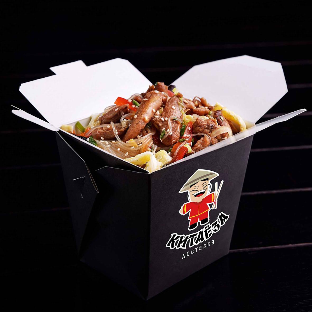 Логотип доставки китайской еды