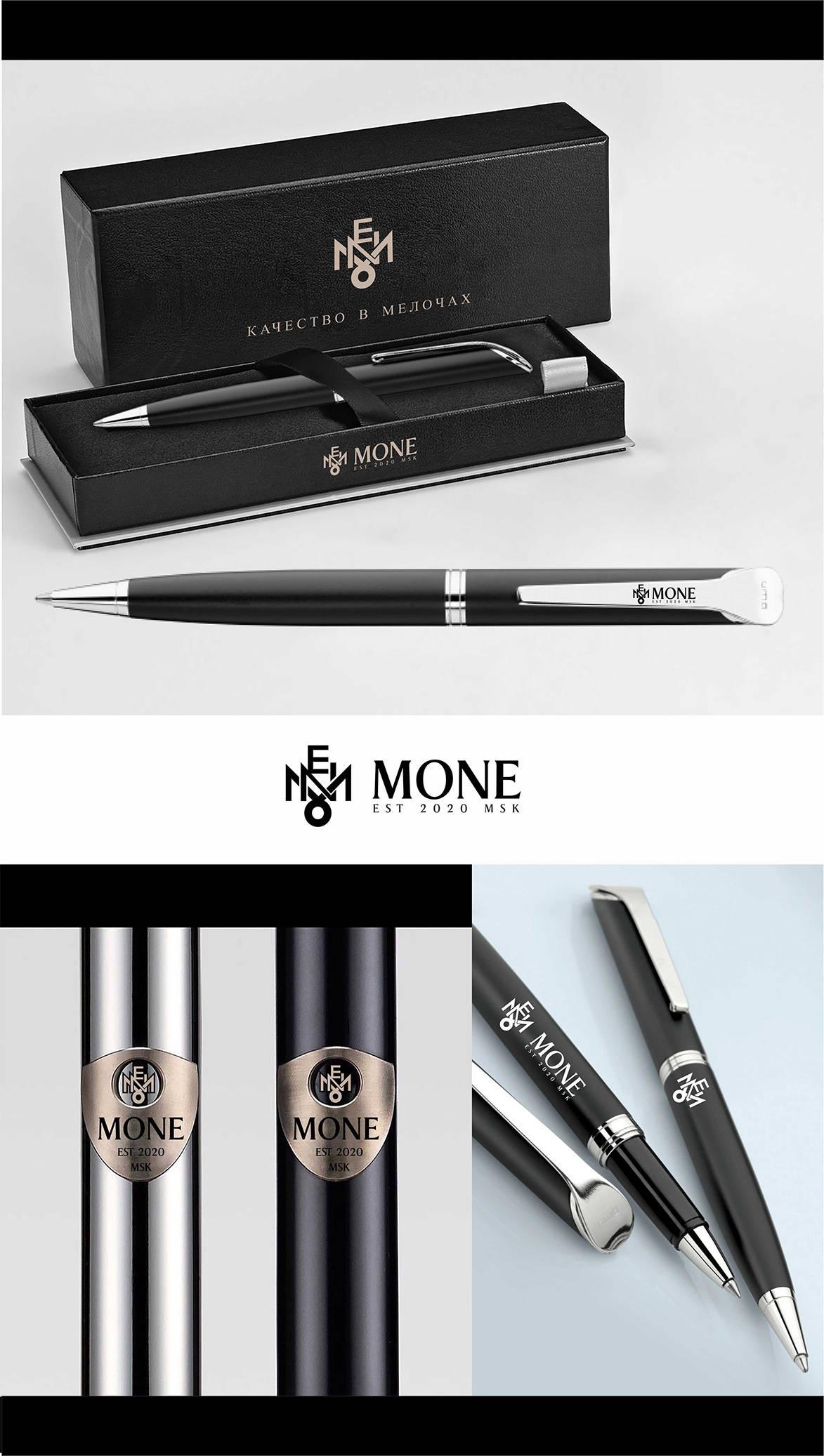Логотип для бренда элитных металлических ручек