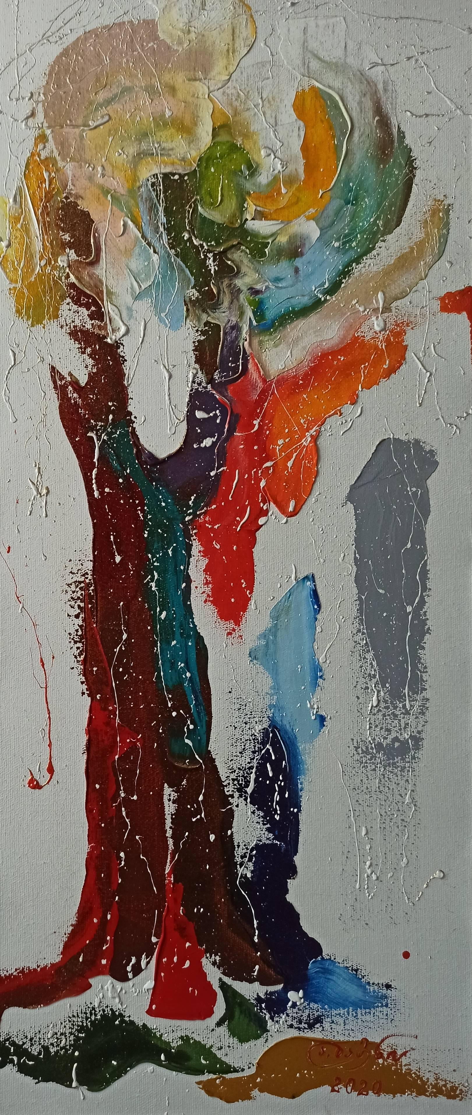 «Осень»            холст, масло «Autumn»         oil on canvas    70x30, 2020