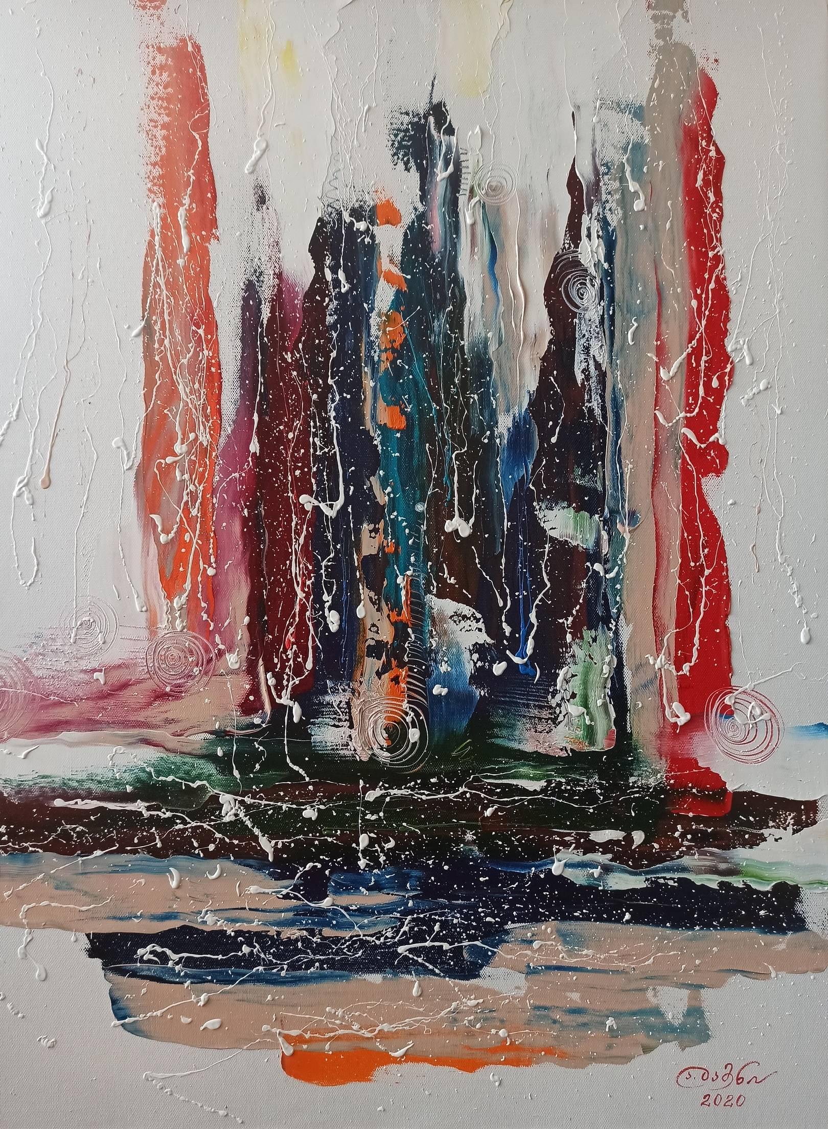 «Цугцванг»     холст, масло «Zugzwang»    oil on canvas    80x60, 2020