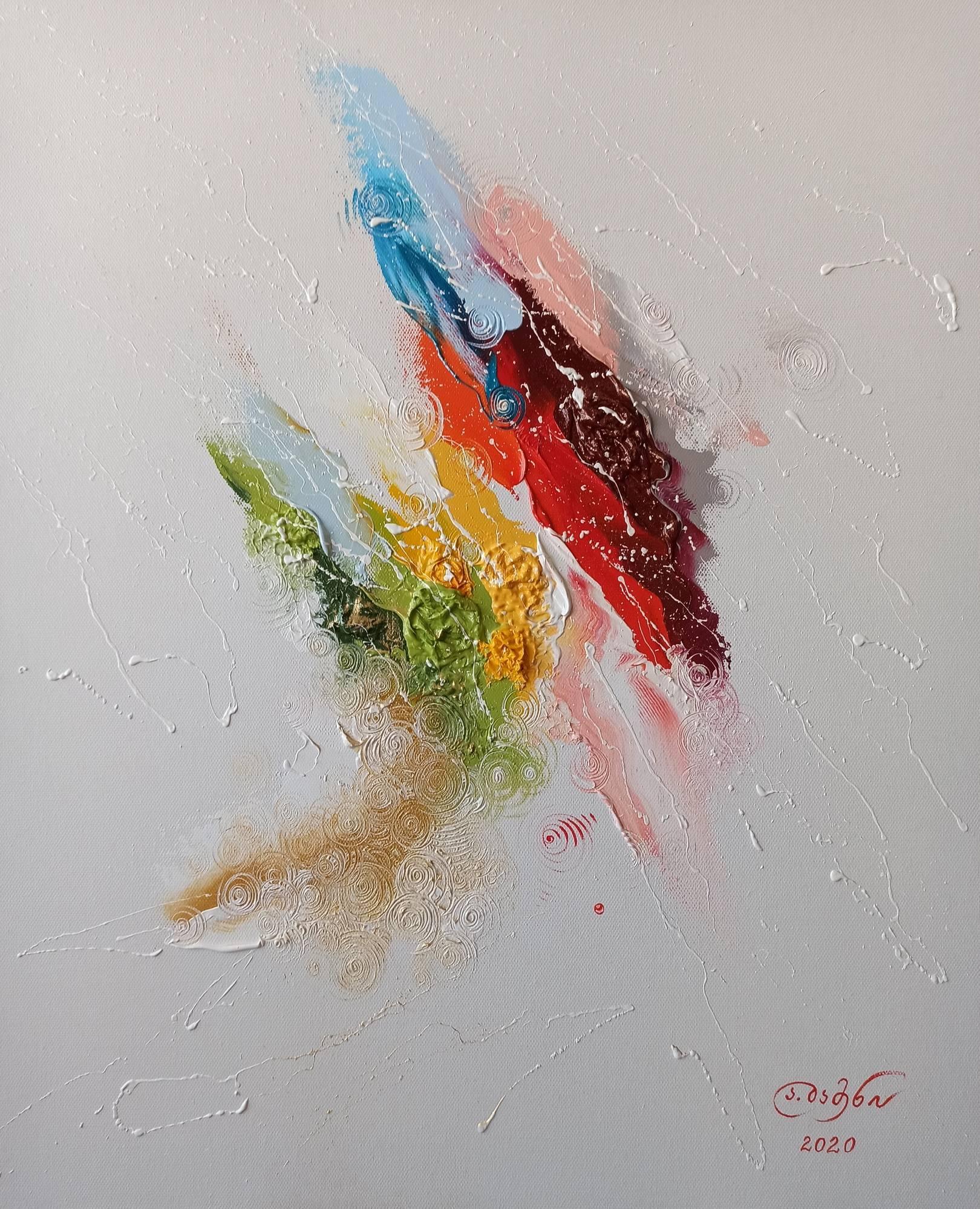 «Свободный полёт» холст, масло «Free flight» oil on canvas  60x50, 2020