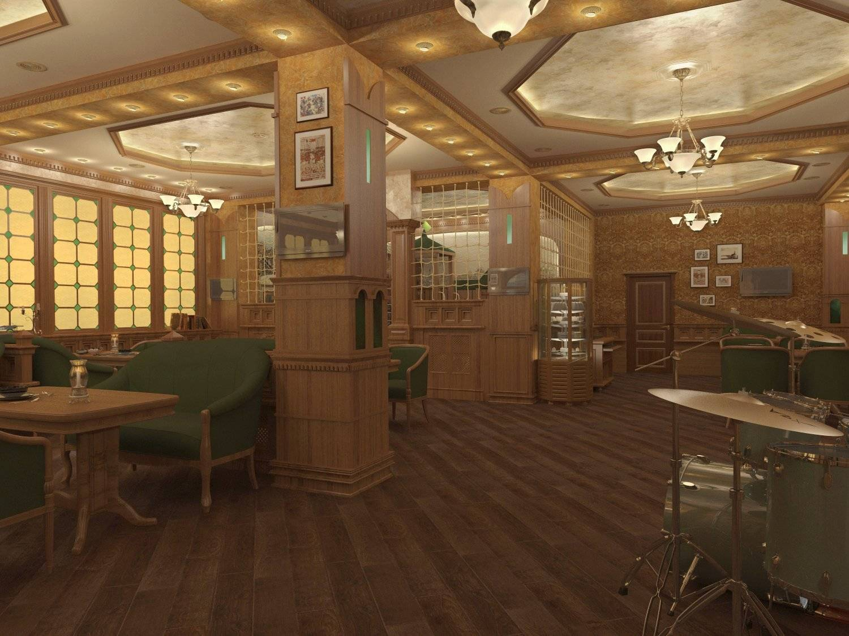 Два этажа семейного кафе