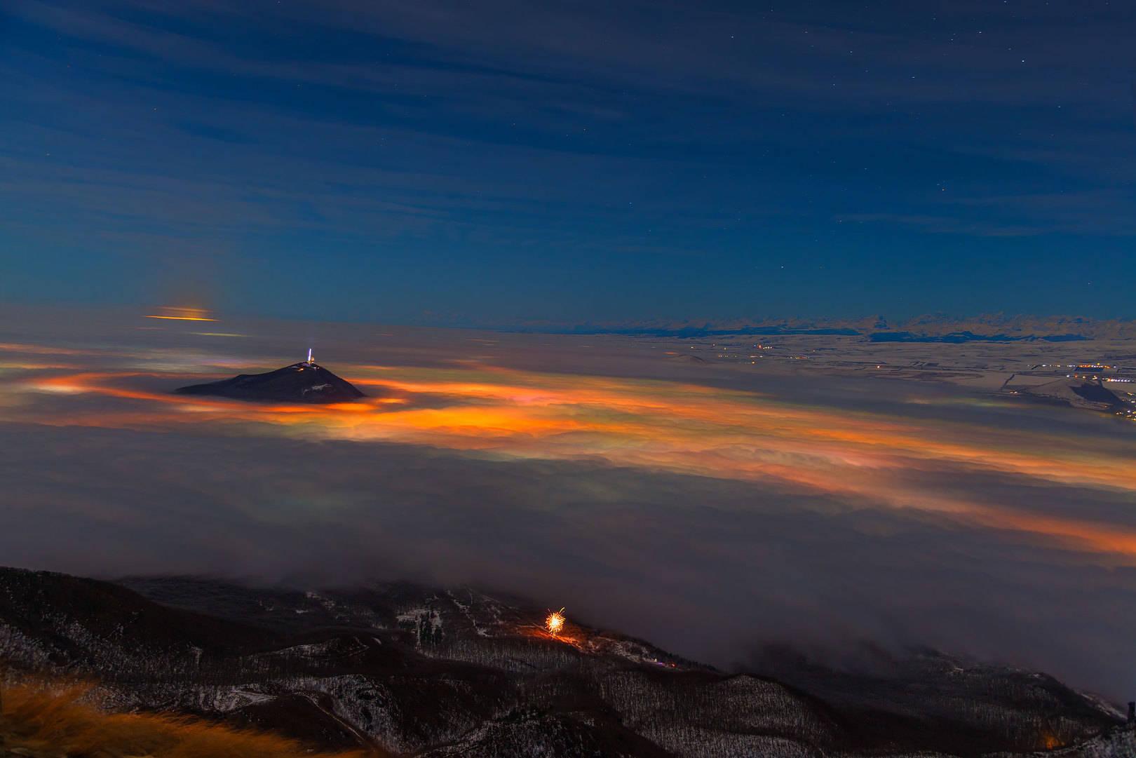Новый Год над туманами