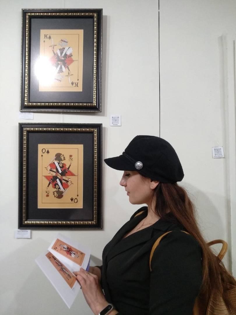 Выставка графика/пастель/акварель. Москва, 2020.