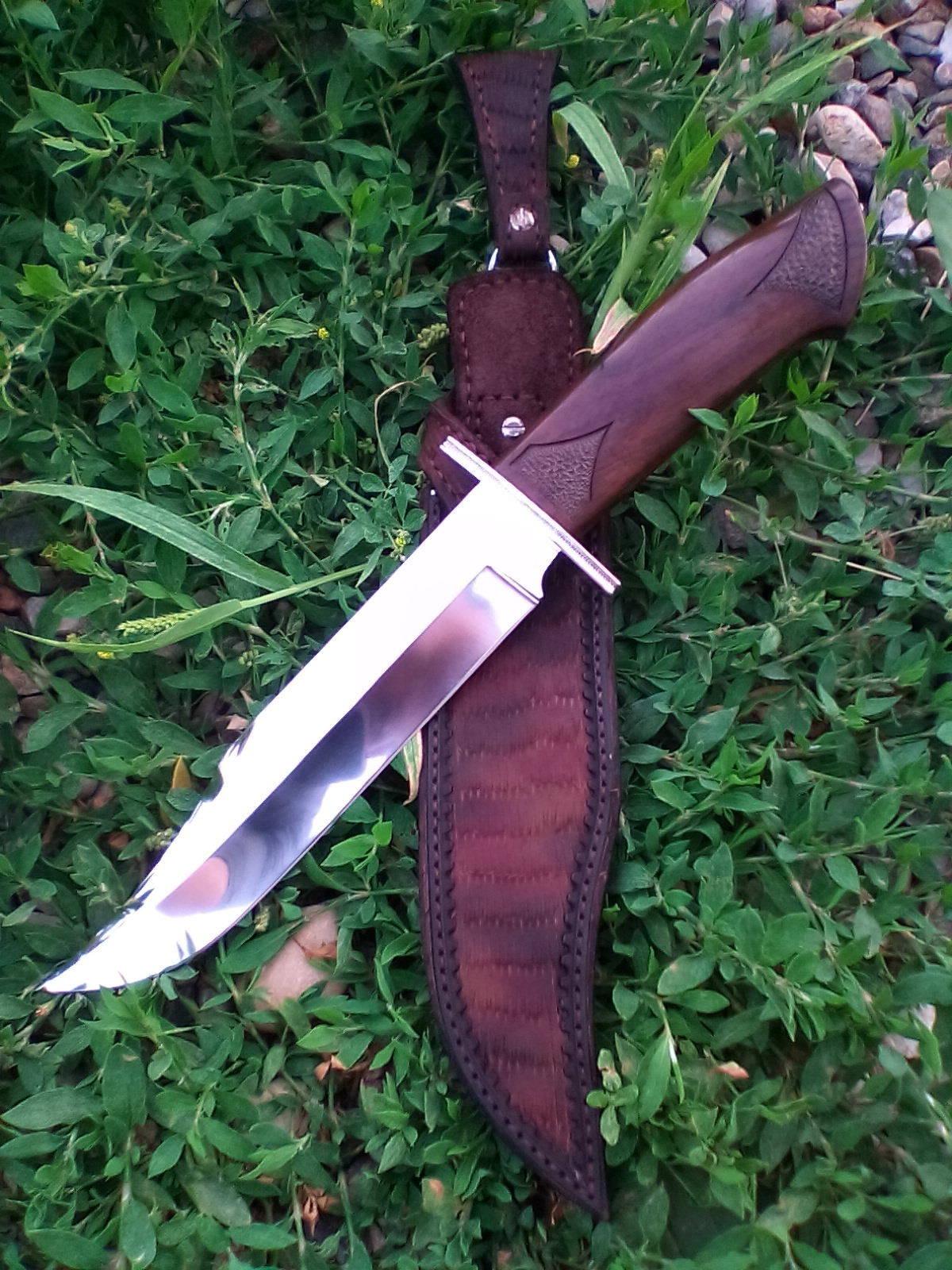 """Нож в стиле Боуи - """"Мясник""""."""