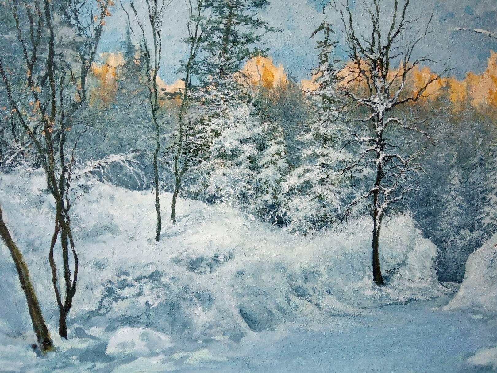 Зима. фрагмент.