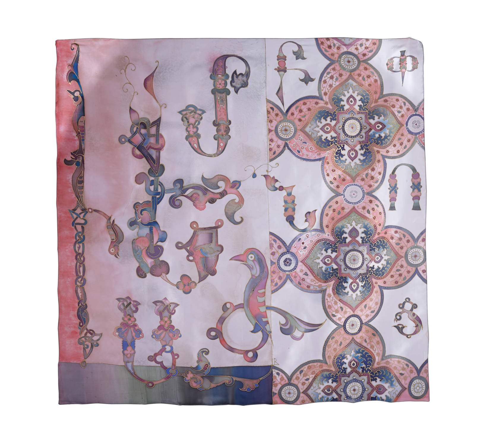 My handmade silk scarfs