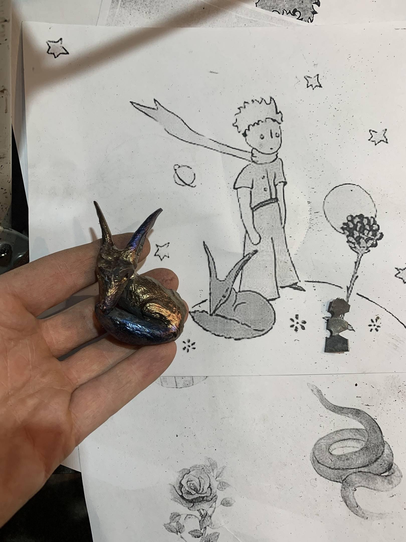 """Детали работы  """"Маленький принц"""""""