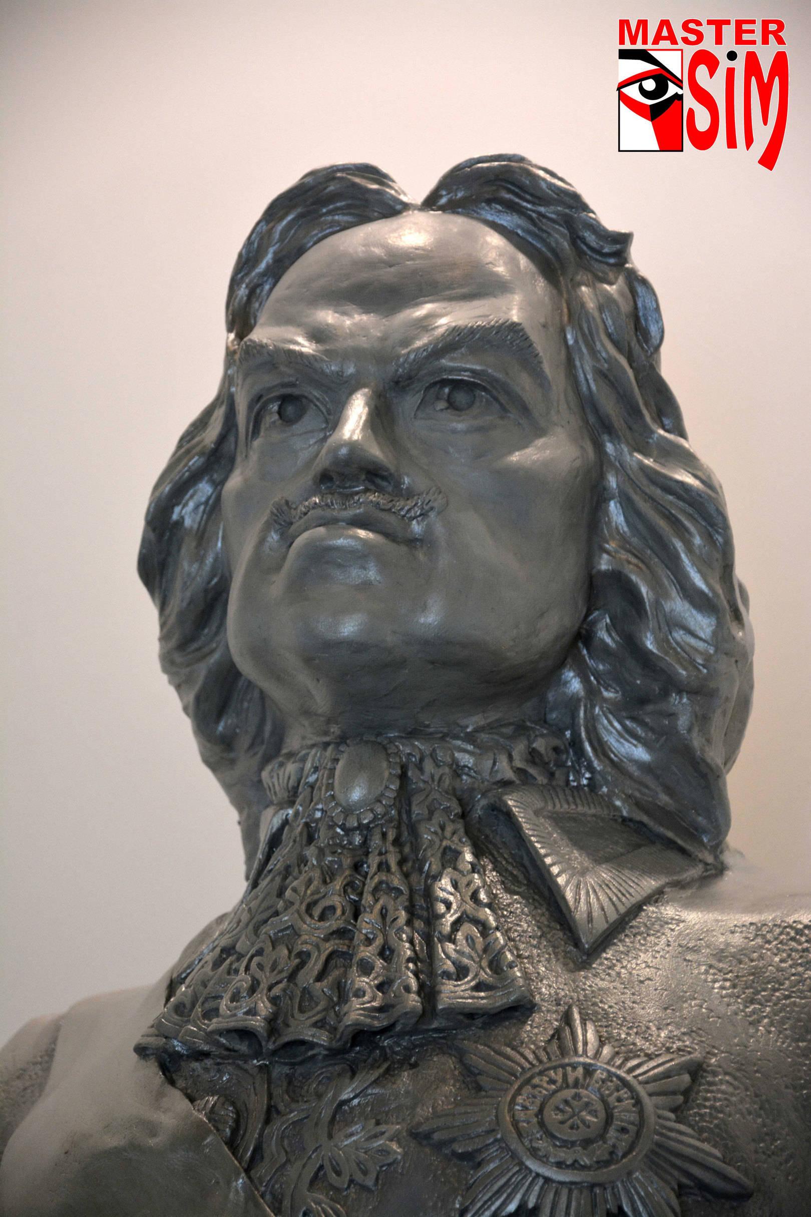 Закончил работу над Скульптурой Петр 1. Санкт Петербург.