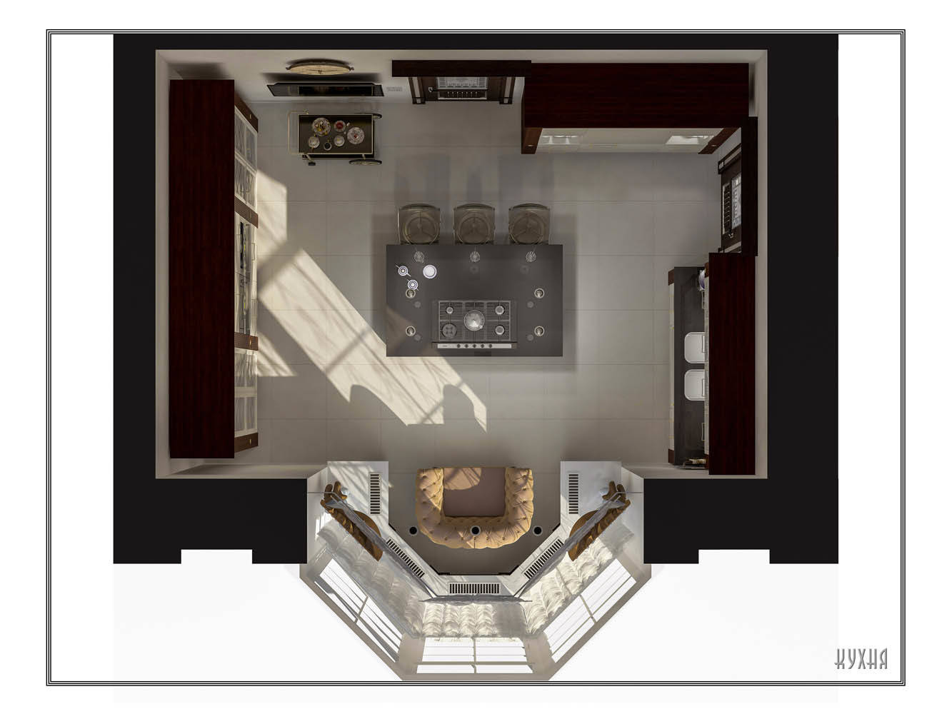 Кухня (план)