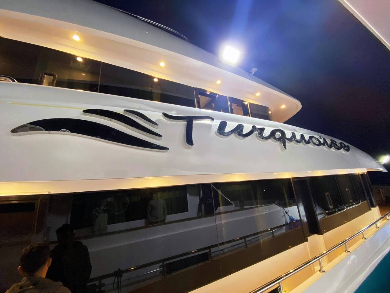 Дизайн логотипа для яхты
