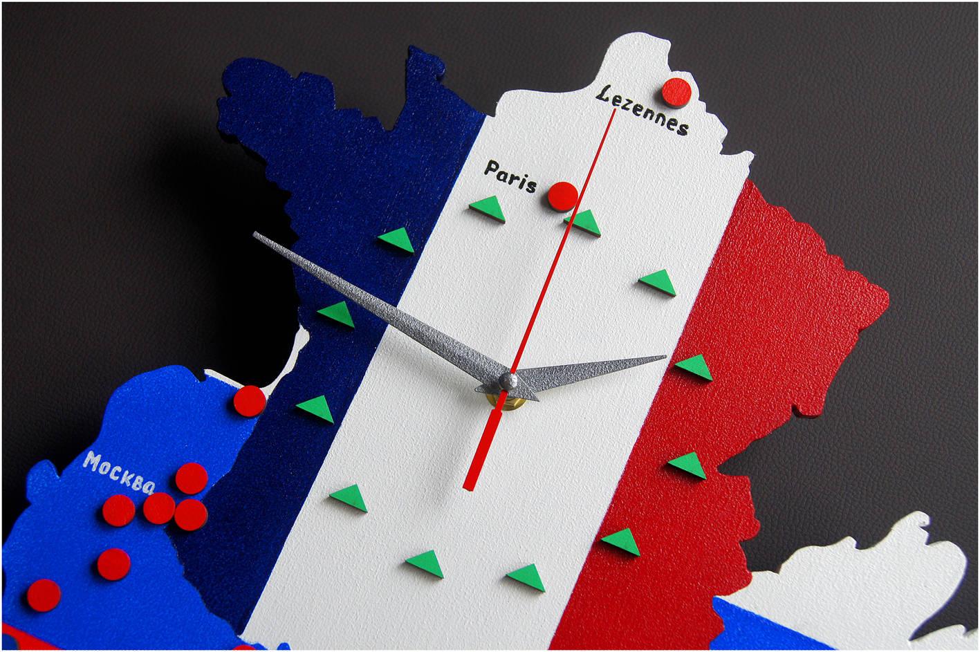 Часы «Lezennes-Москва. Leroy Merlin»