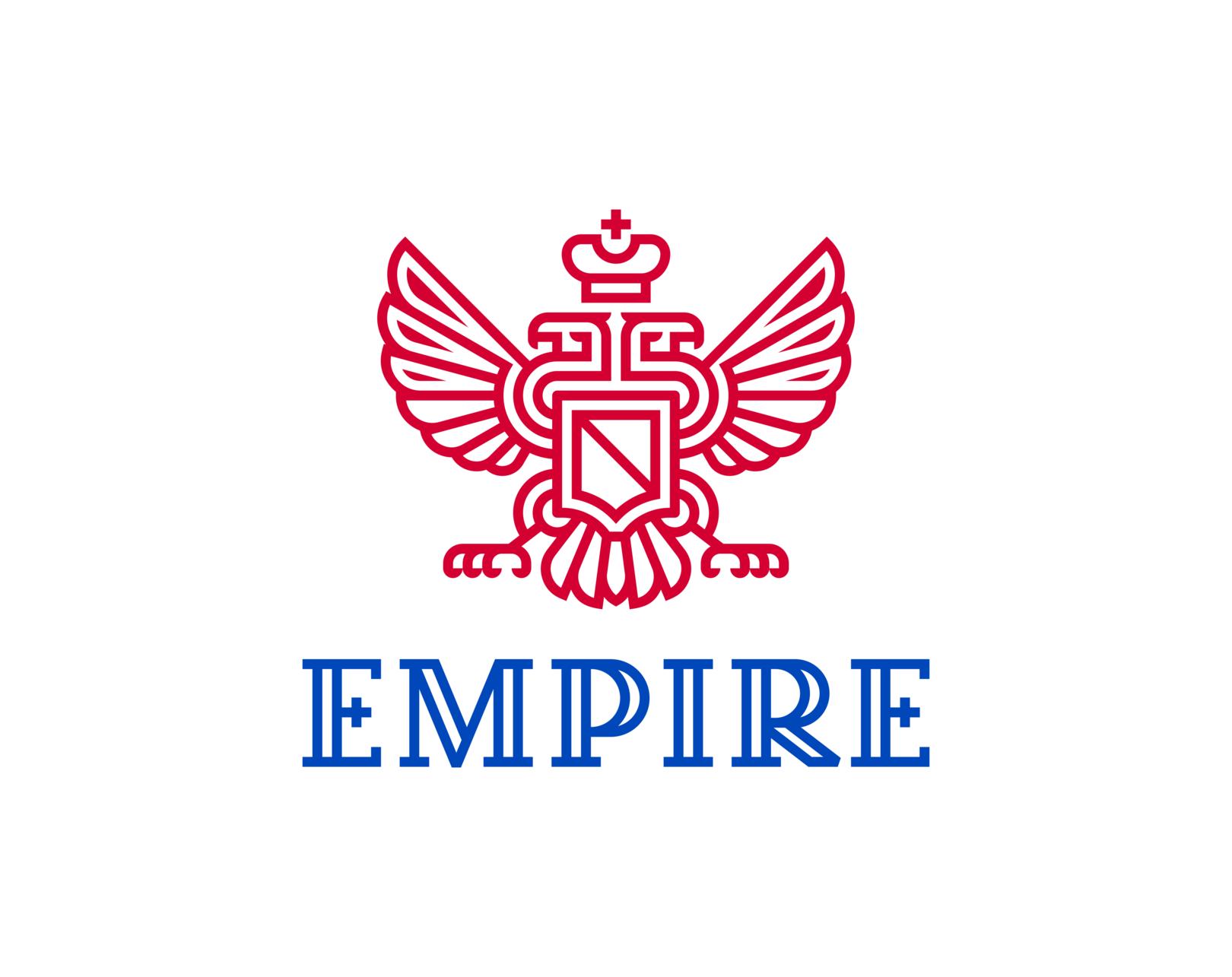 Империя Двуглавый орел  Концепт: создание геральдики с использованием инженерной дисциплины «Начертательная геометрия».