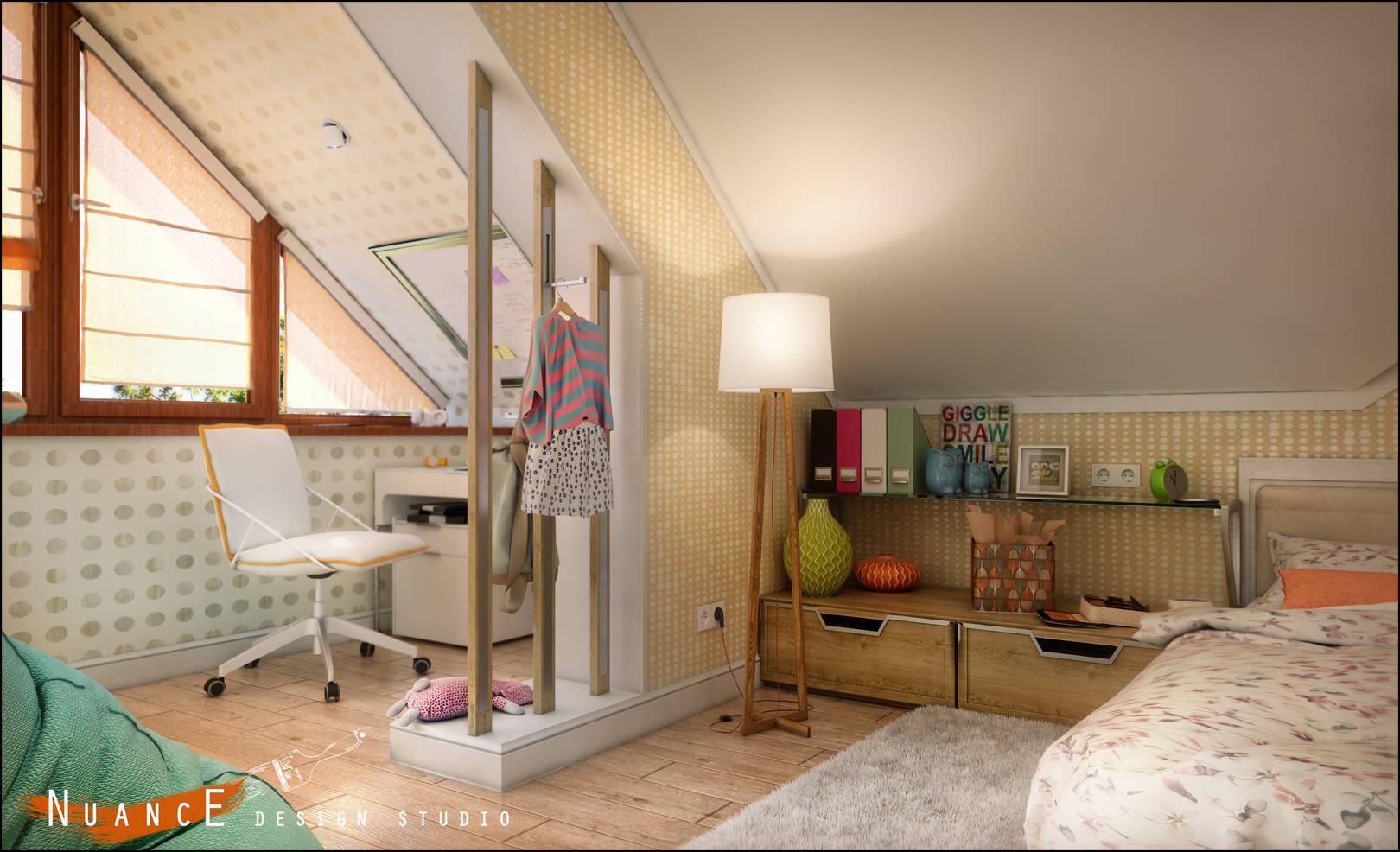 Дизайн  детской комнаты в  частном доме