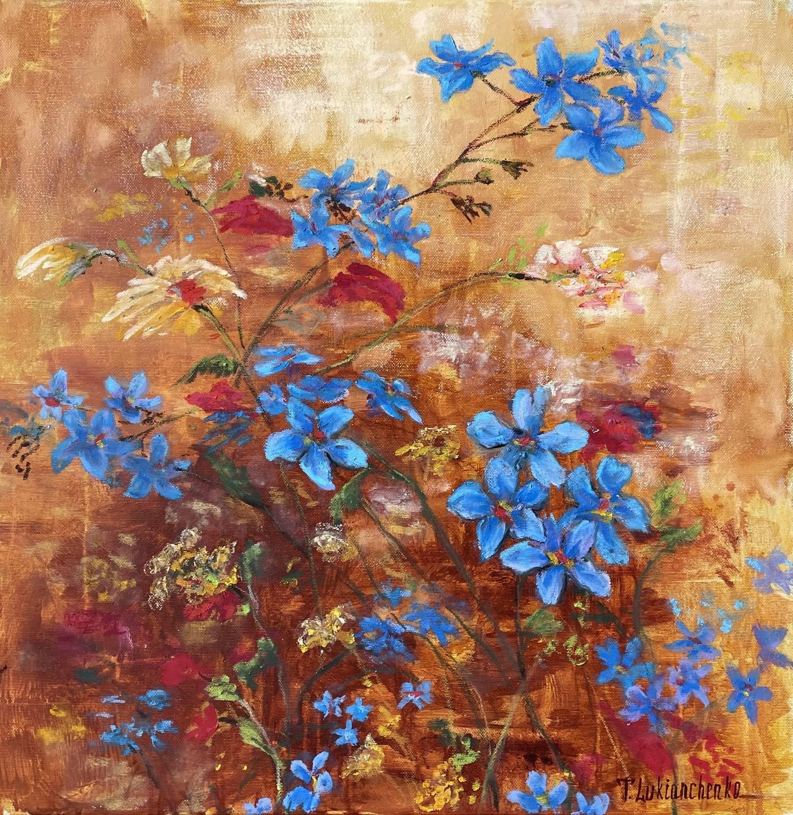 Цветы луговые