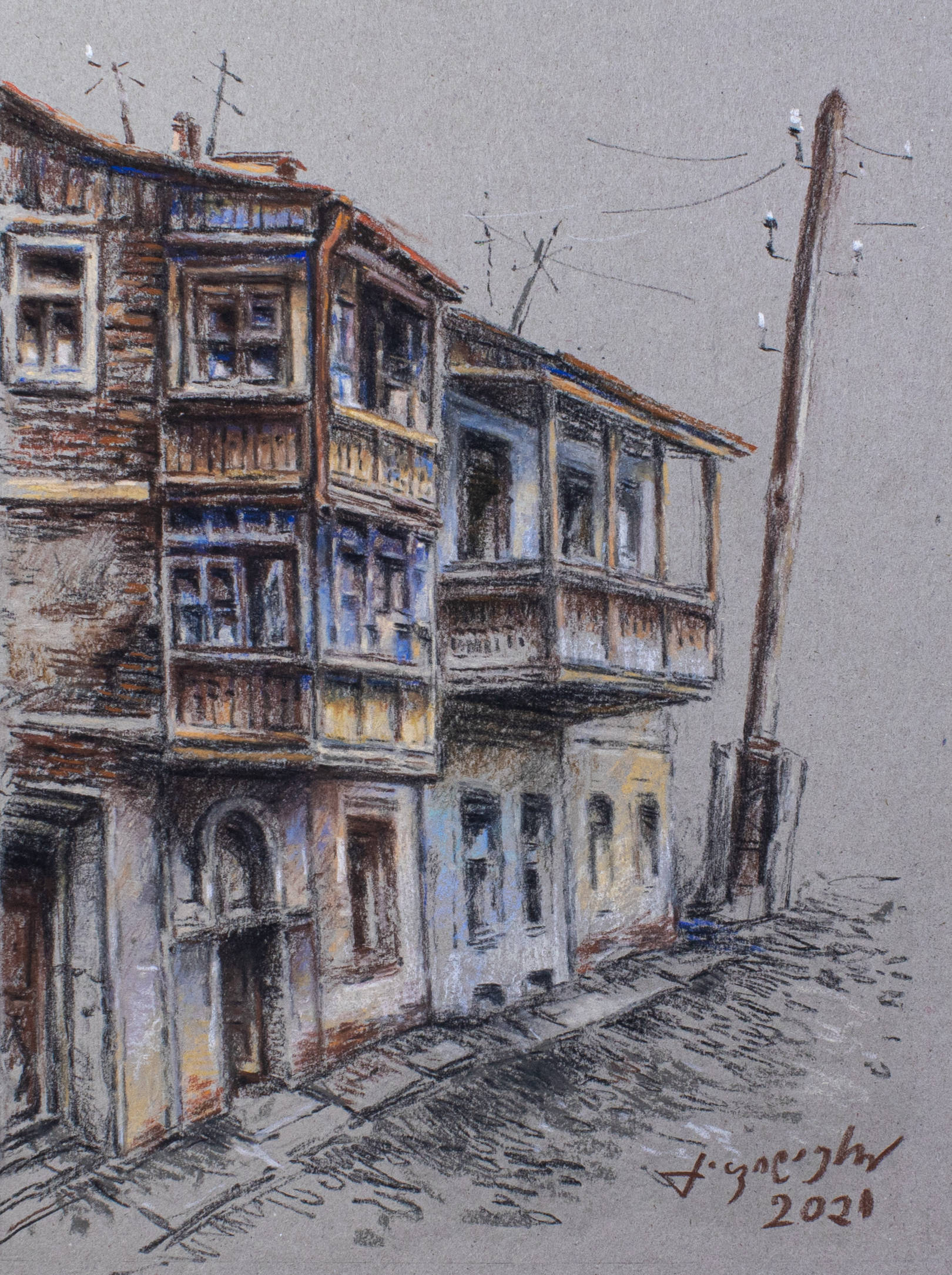 Зарисовки - старый город