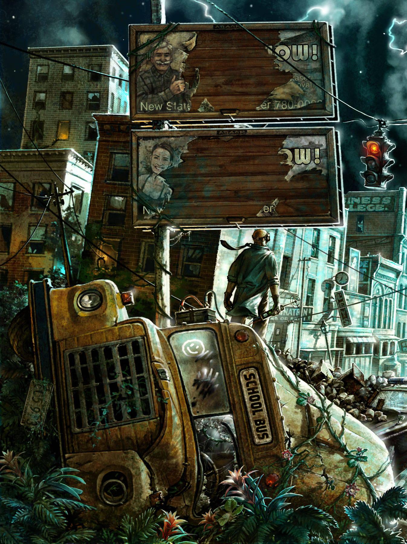Иллюстрации к компьютерным играм