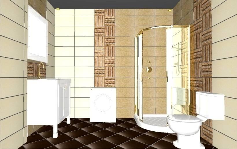 Ванные комнаты в различных стилях