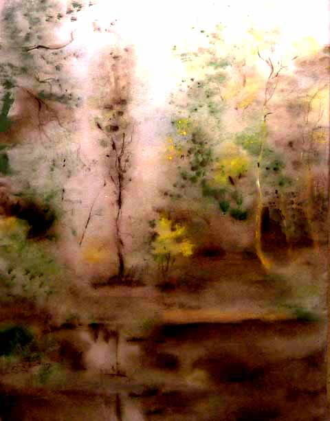 Живопись на шёлке / Painting on silk