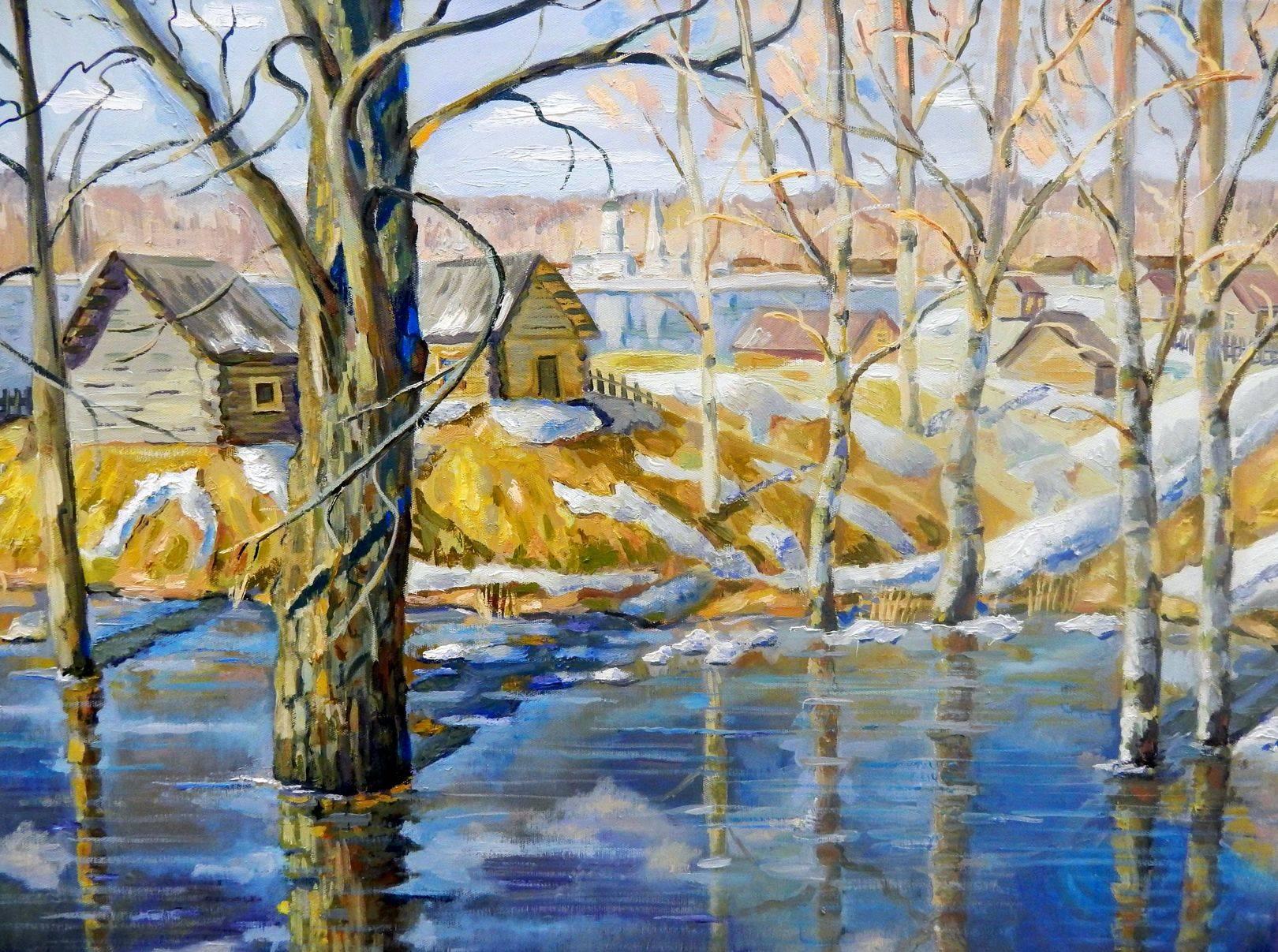 Северная весна. Разлив