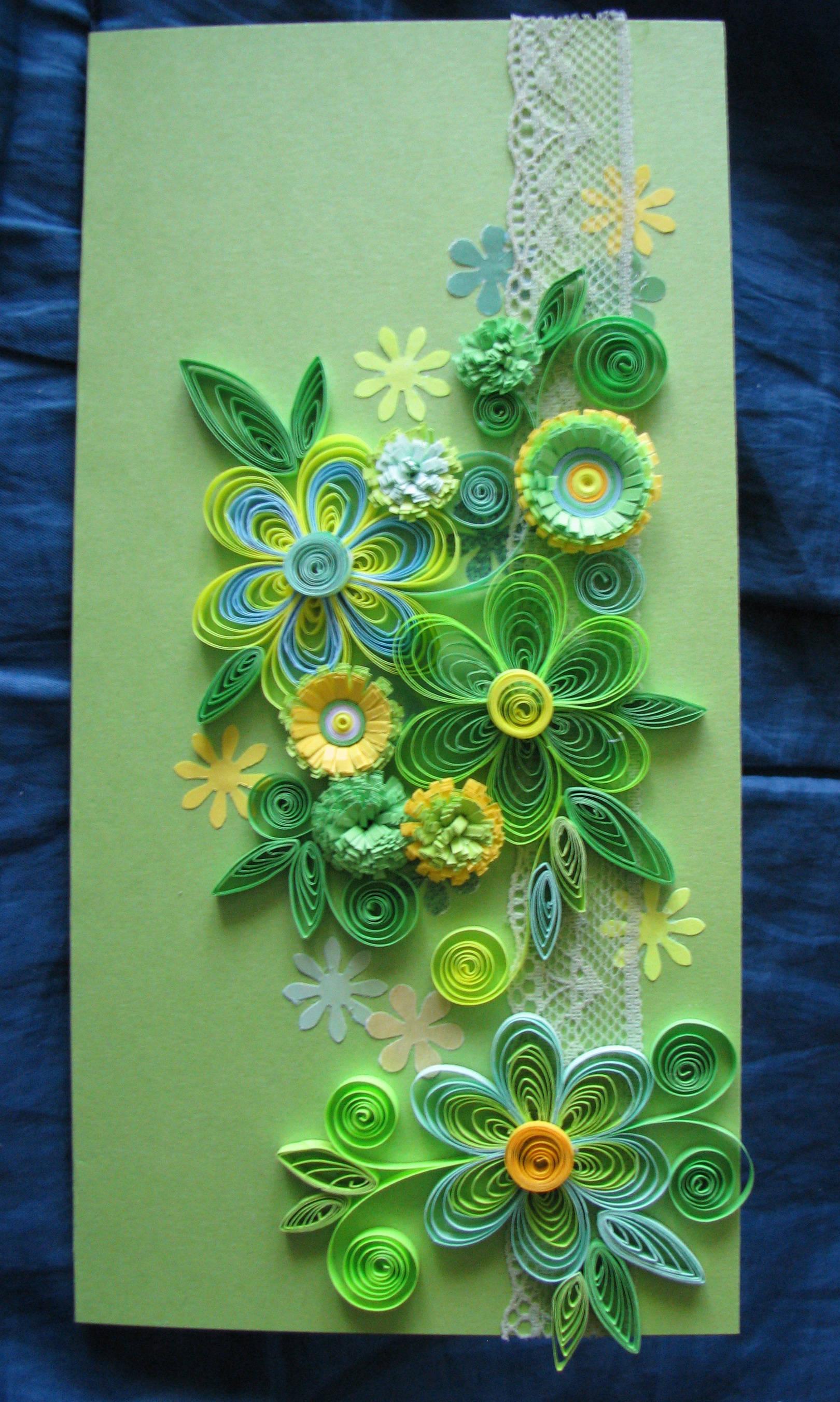 Квиллинг, оригами, роспись миниатюр. Все своими руками.