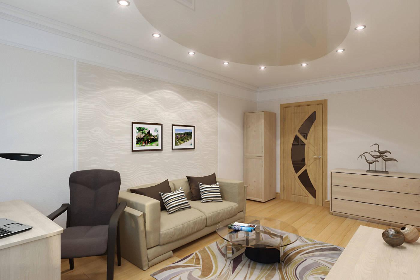 Интерьер квартиры с намеком на фэн-шуй