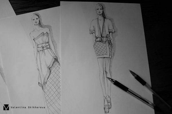 Fashion illustration #1