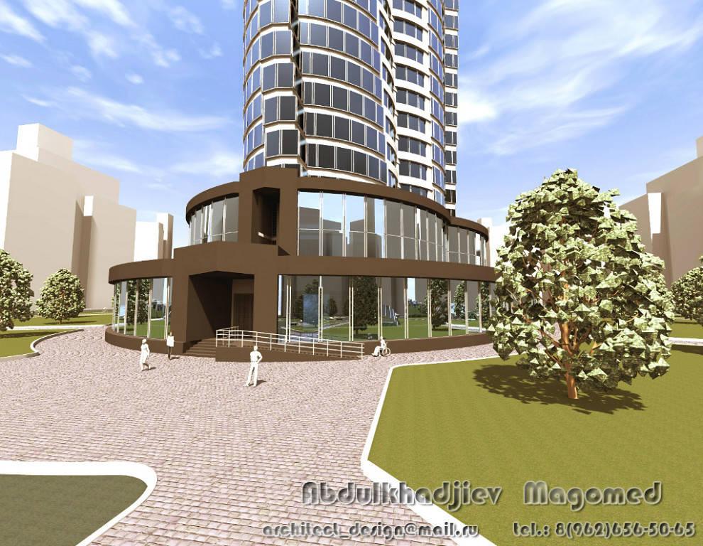 Парк культуры и отдыха, многоэтажный комплекс бизнес-центра, частные дома, коттеджи, ландшафтный дизайн, дизайн интерьера, дошкольные образовательные учреждения