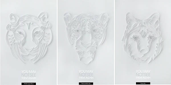 Endangered species saving posters