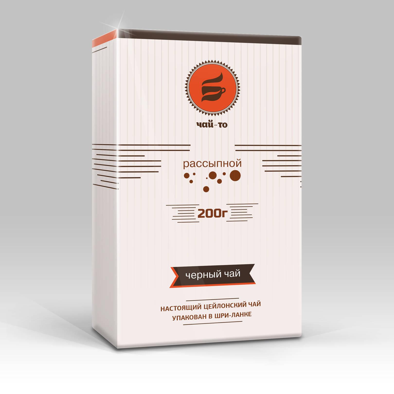 Концепция упаковки чая / Tea packaging concept