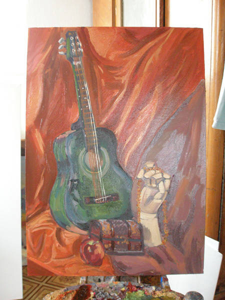 живопись художницы юлии