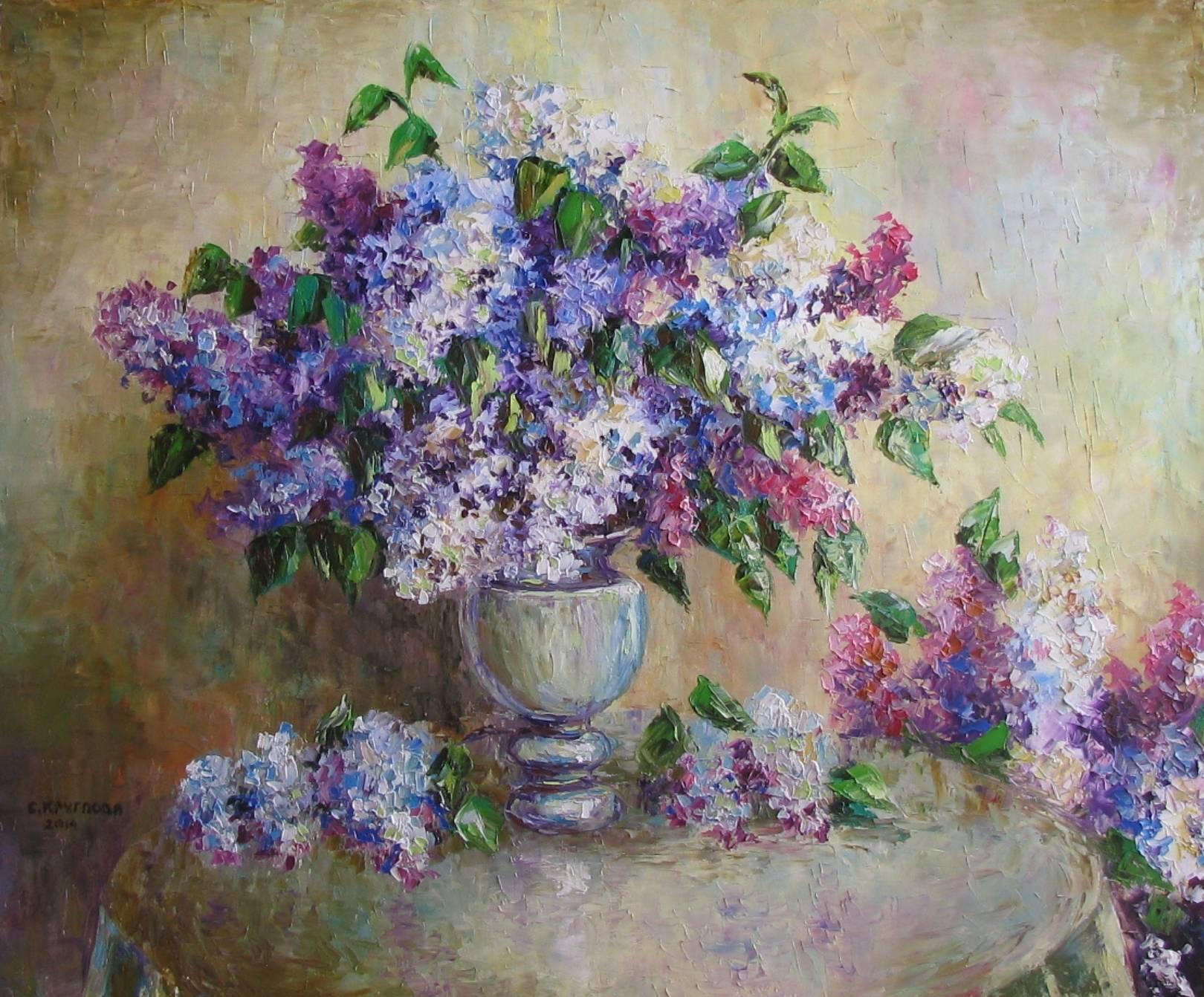 Живопись. Цветы и пейзажи