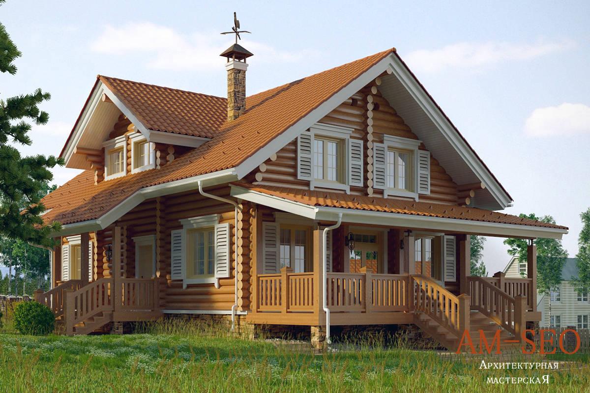 Проект загородного дома в Дмитровском районе, Московская область, 2014