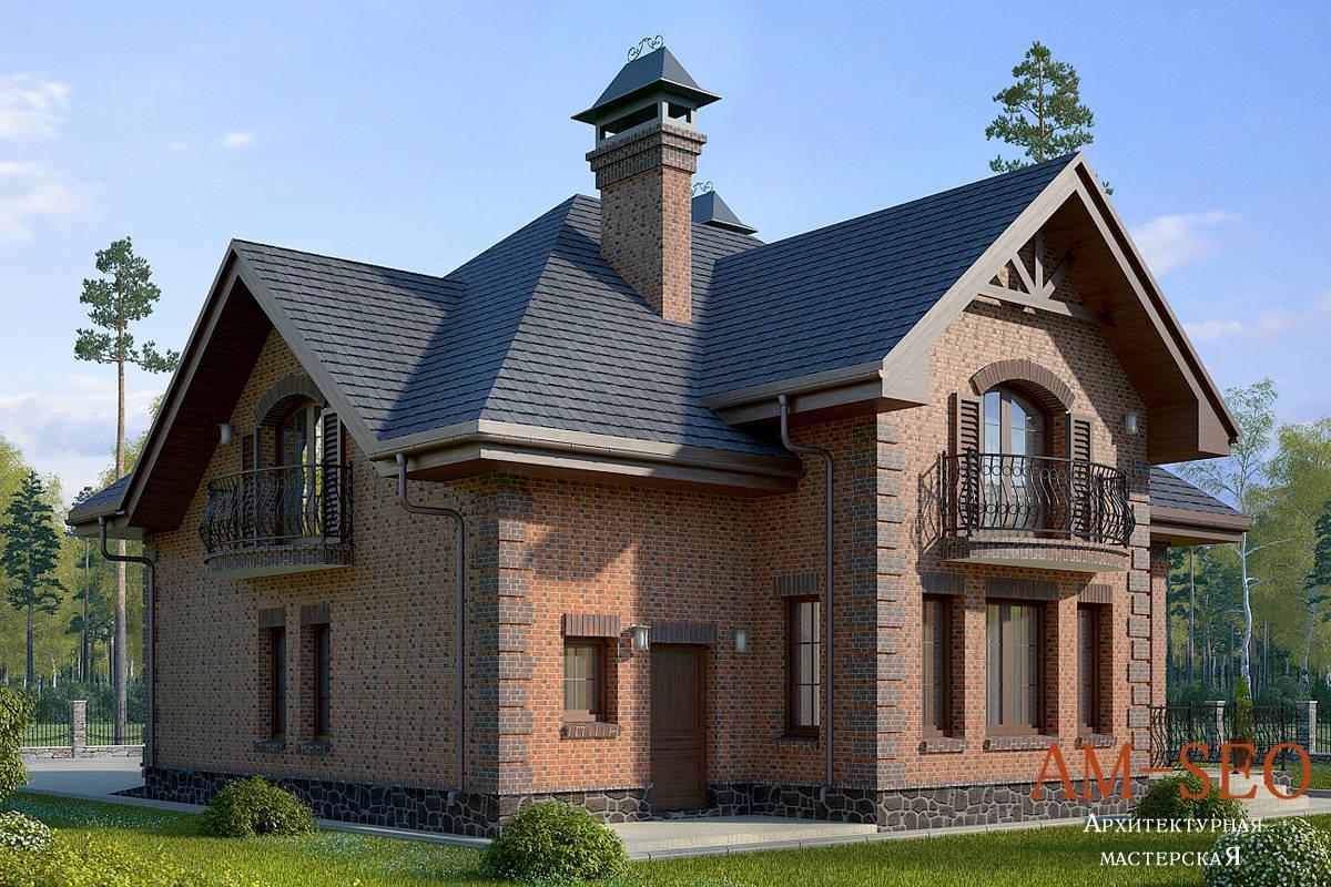 Проект загородного дома 250кв.м