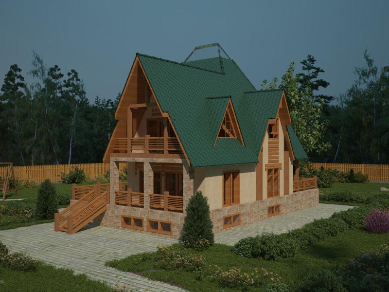 деревянные дома