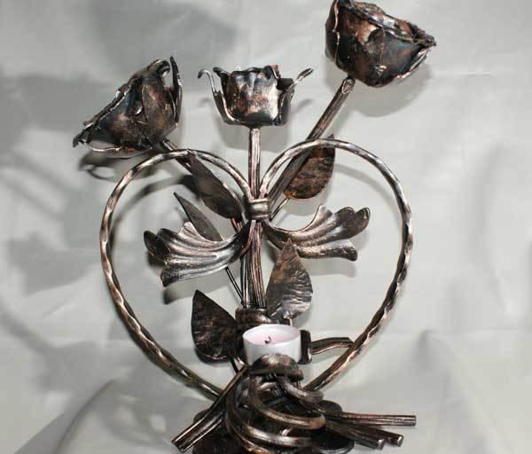 Интерьерная ковка - цветы