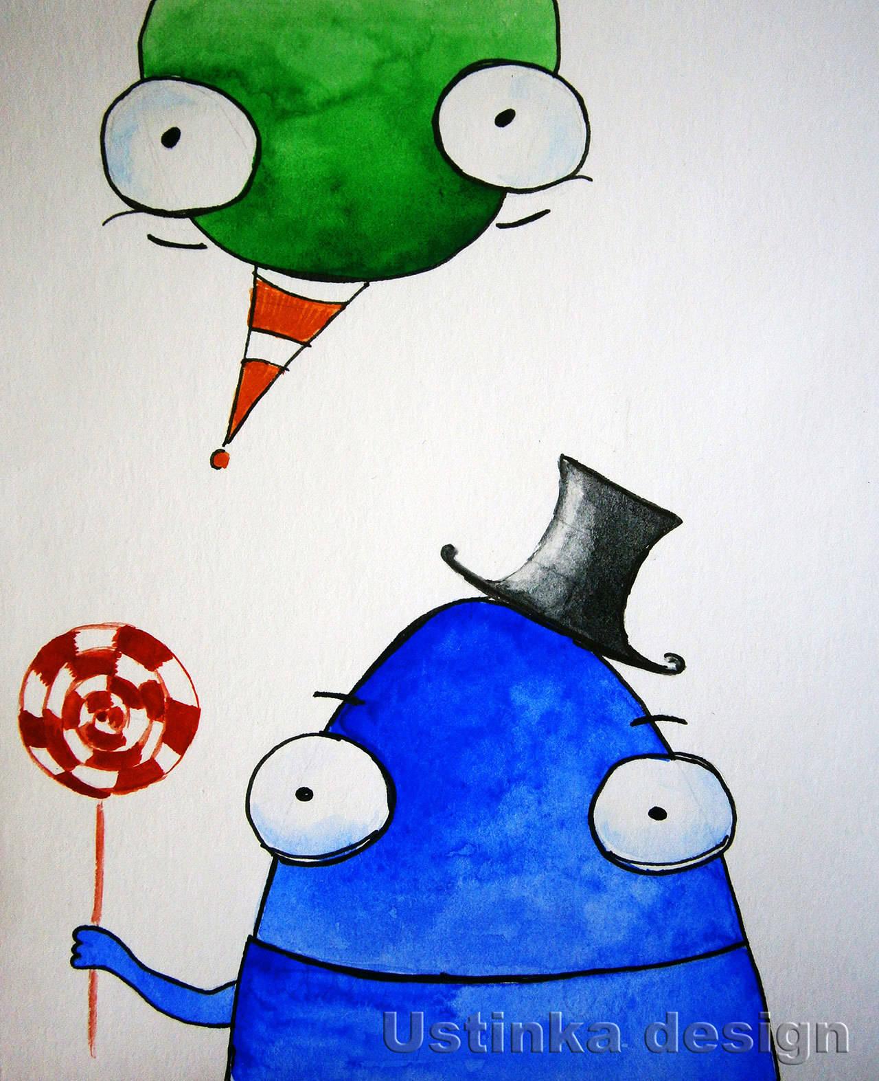 Иллюстрация «Праздничная»