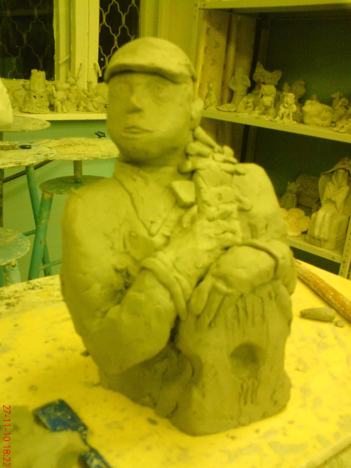 работы из глины\пластилина