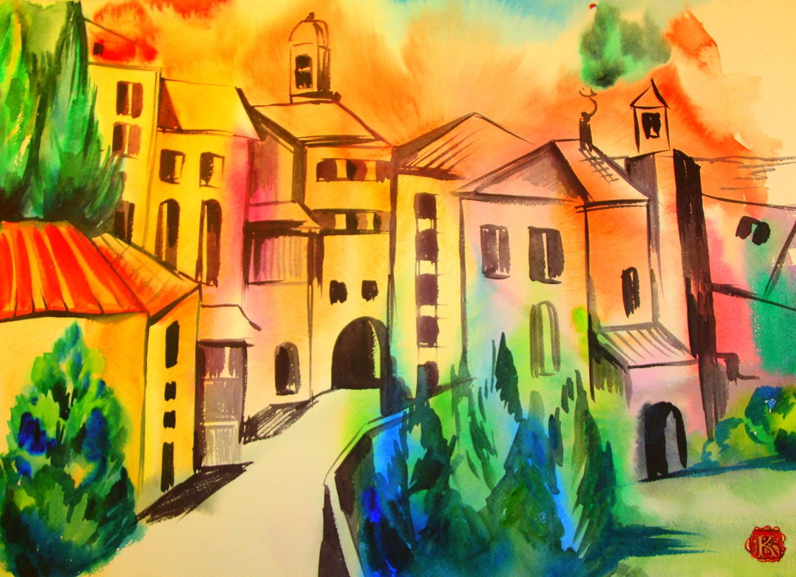 Italy. Toscana.