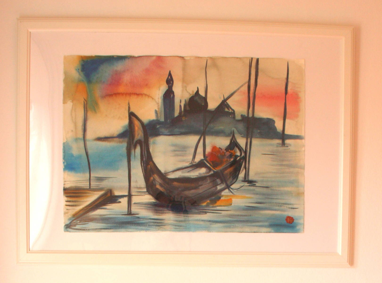 Watercolour. Italy. Venice