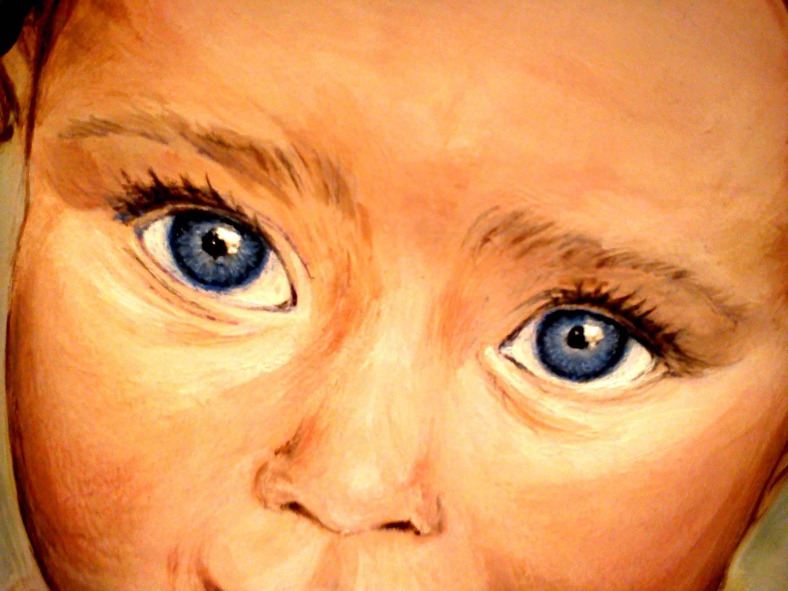 3D портреты на коже