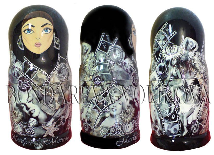 Nest-doll stilizovannaya-Матрешки стилизованные