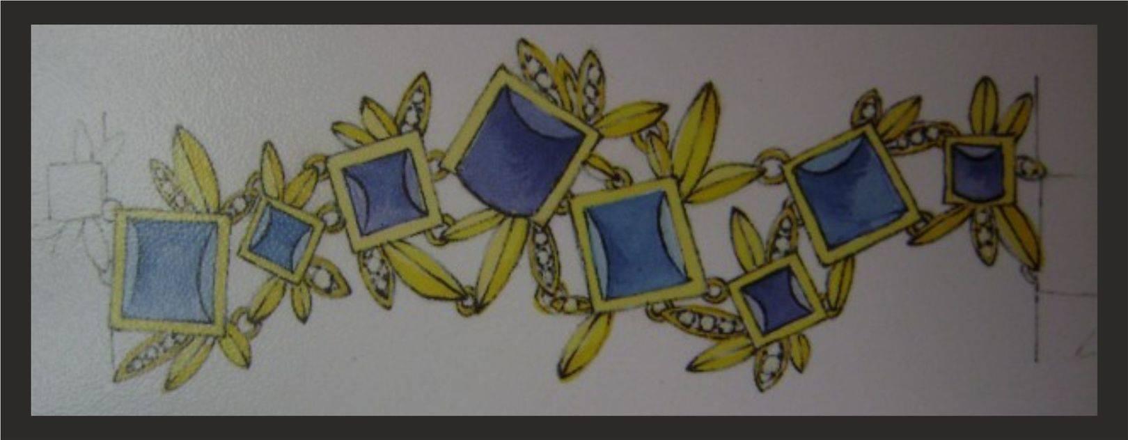 эскизы ювелирных украшений