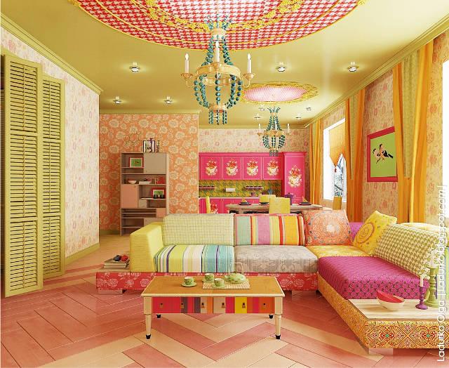 Квартира для молодой эксцентричной девушки